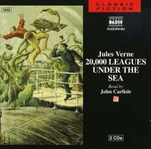 Audiobook: 20000 Leagues Under The.., 2 CDs