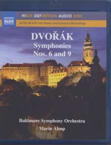 Antonin Dvorak (1841-1904): Symphonien Nr.6 & 9, Blu-ray Audio