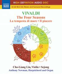 "Antonio Vivaldi (1678-1741): Concerti op.8 Nr.1-4 ""4 Jahreszeiten"", Blu-ray Audio"