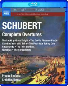 Franz Schubert (1797-1828): Sämtliche Ouvertüren, Blu-ray Audio