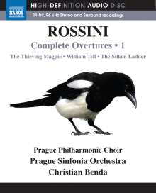 Gioacchino Rossini (1792-1868): Sämtliche Ouvertüren Vol.1 (Blu-ray Audio), Blu-ray Audio