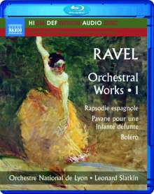 Maurice Ravel (1875-1937): Orchesterwerke Vol.1 (Blu-ray Audio), Blu-ray Audio