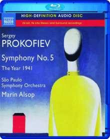 Serge Prokofieff (1891-1953): Symphonie Nr.5, Blu-ray Audio