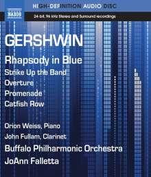 George Gershwin (1898-1937): Rhapsody in Blue für Klavier & Orchester (arr.F.Grofé), Blu-ray Audio