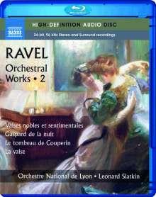 Maurice Ravel (1875-1937): Orchesterwerke Vol.2, Blu-ray Audio