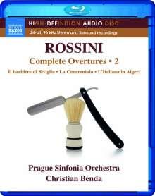 Gioacchino Rossini (1792-1868): Sämtliche Ouvertüren Vol.2 (Blu-ray Audio), Blu-ray Audio