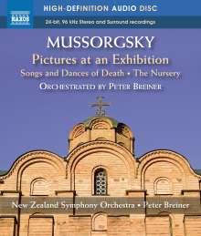 Modest Mussorgsky (1839-1881): Bilder einer Ausstellung (Orch.Fass.), Blu-ray Audio