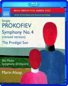 Serge Prokofieff (1891-1953): Symphonie Nr.4, Blu-ray Audio