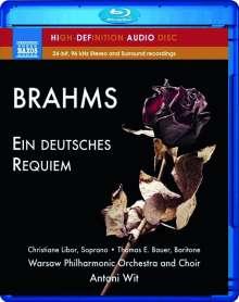 Johannes Brahms (1833-1897): Ein Deutsches Requiem op.45, Blu-ray Audio