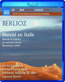"Hector Berlioz (1803-1869): Symphonie ""Harold in Italien"", Blu-ray Audio"
