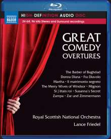 Royal Scottish National Orchestra - Great Comedy Overtures, Blu-ray Audio