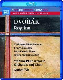 Antonin Dvorak (1841-1904): Requiem op.89, Blu-ray Audio