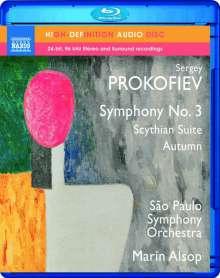 Serge Prokofieff (1891-1953): Symphonie Nr.3, Blu-ray Audio