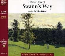 Proust,Marcel:Swann's Way, 3 CDs