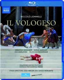 Niccolo Jommelli (1714-1774): Il Vologeso, Blu-ray Disc