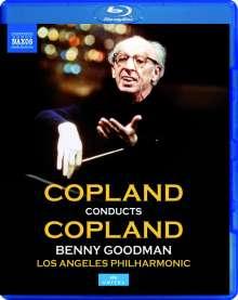 Aaron Copland (1900-1990): Copland conducts Copland, Blu-ray Disc
