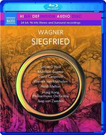Richard Wagner (1813-1883): Siegfried, Blu-ray Audio