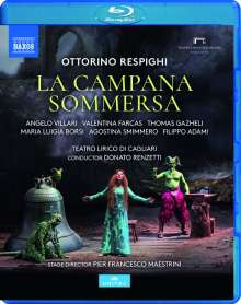 Ottorino Respighi (1879-1936): La Campana Sommersa, Blu-ray Disc