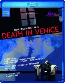 Benjamin Britten (1913-1976): Death in Venice, Blu-ray Disc