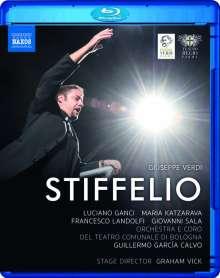 Giuseppe Verdi (1813-1901): Stiffelio, Blu-ray Disc