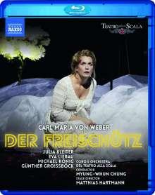 Carl Maria von Weber (1786-1826): Der Freischütz, Blu-ray Disc