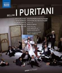 Vincenzo Bellini (1801-1835): I Puritani, Blu-ray Disc