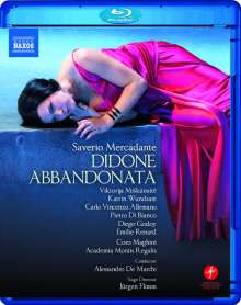Saverio Mercadante (1795-1870): Didone Abbandonata, Blu-ray Disc