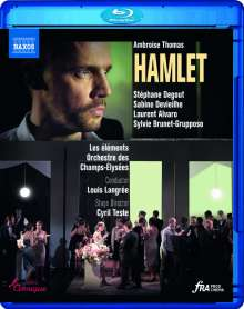 Ambroise Thomas (1811-1896): Hamlet, Blu-ray Disc