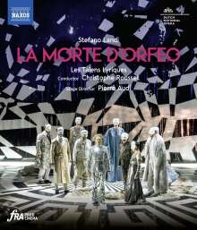 Stefano Landi (1587-1639): La Morte d'Orfeo, Blu-ray Disc