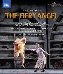 Serge Prokofieff (1891-1953): L'Ange de Feu (Der feurige Engel), Blu-ray Disc