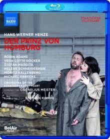 Hans Werner Henze (1926-2012): Der Prinz von Homburg, Blu-ray Disc