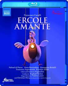 Francesco Cavalli (1602-1676): Ercole Amante, Blu-ray Disc
