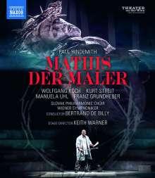 Paul Hindemith (1895-1963): Mathis der Maler, Blu-ray Disc