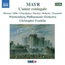 Johann Simon Mayr (1763-1845): L'Amor Coniugale, 2 CDs