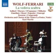Ermanno Wolf-Ferrari (1876-1948): La Vedova scaltra, 2 CDs