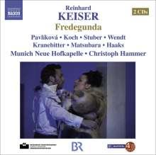 Reinhard Keiser (1674-1739): Fredegunda, 2 CDs