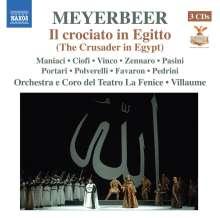 Giacomo Meyerbeer (1791-1864): Il Crociato in Egitto, 3 CDs