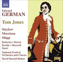 Edward German (1862-1936): Tom Jones (1907), 2 CDs