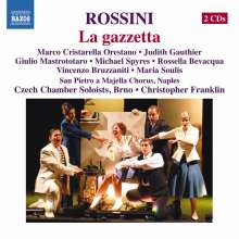 Gioacchino Rossini (1792-1868): La Gazzetta, 2 CDs