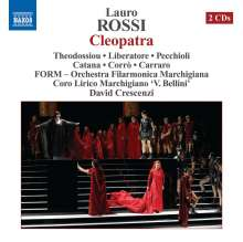 Lauro Rossi (1812-1885): Cleopatra, 2 CDs