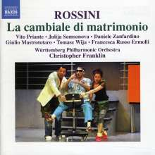 Gioacchino Rossini (1792-1868): La Cambiale di Matrimonio, CD