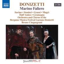 Gaetano Donizetti (1797-1848): Marin Faliero, 2 CDs