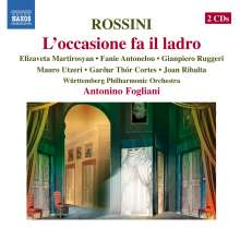 Gioacchino Rossini (1792-1868): L'Occasione fa il ladro, 2 CDs