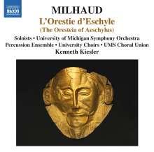 Darius Milhaud (1892-1974): L'Orestie d'Eschyle, 3 CDs