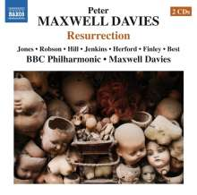 Peter Maxwell Davies (1934-2016): Resurrection, 2 CDs