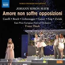 Johann Simon (Giovanni Simone) Mayr (1763-1845): Amore non soffre opposizioni, 2 CDs