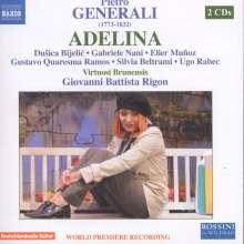 Pietro Generali (1773-1832): Adelina, 2 CDs