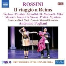 Gioacchino Rossini (1792-1868): Il Viaggio a Reims, 3 CDs