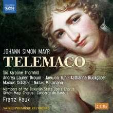 Johann Simon (Giovanni Simone) Mayr (1763-1845): Telemaco, 2 CDs