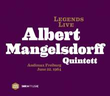Albert Mangelsdorff (1928-2005): Legends Live: Audimax Freiburg 1964, CD